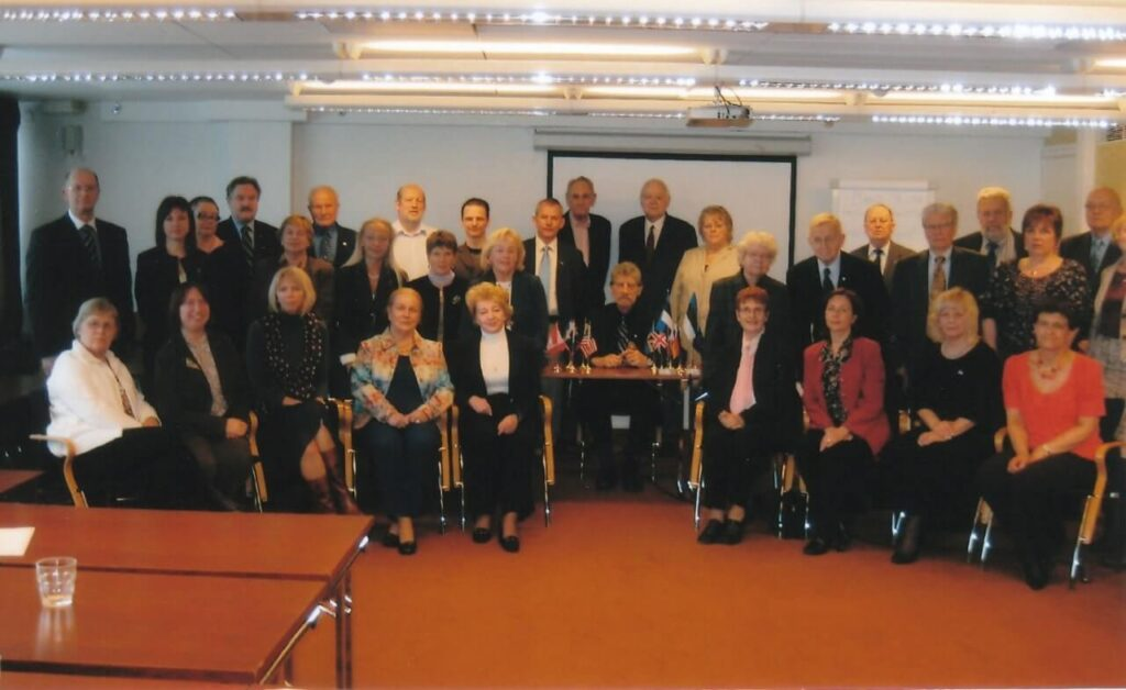 The Annual General Meeting of the EWC in Viru Hotel, Tallinn in April, 2009