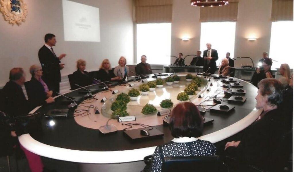 ÜEKN täiskogu Tallinnas 2012