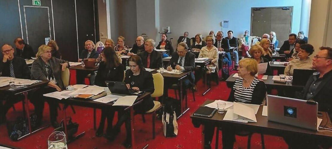 The Annual General Meeting of the EWC in Tallinn, Meriton Hotel in 2018