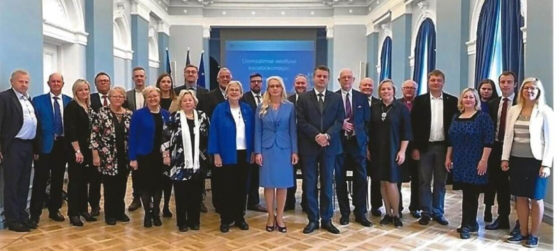 The Global Estonian Cooperation Commission in 2019